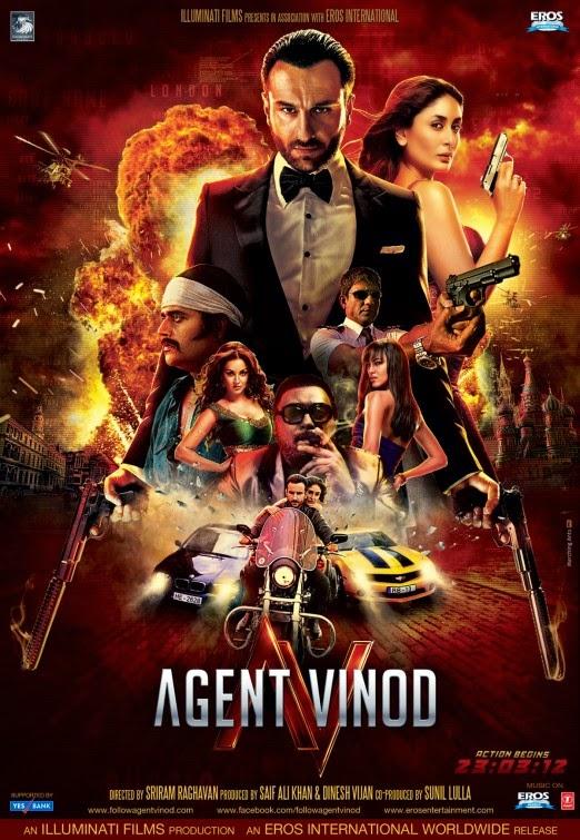 Agent Vinod 2012 DvdRip 480p 400MB