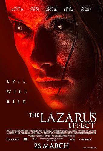 The Lazarus Effect (2015) movie