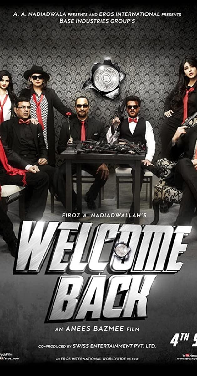 Welcome Back (2015) 720p Hindi