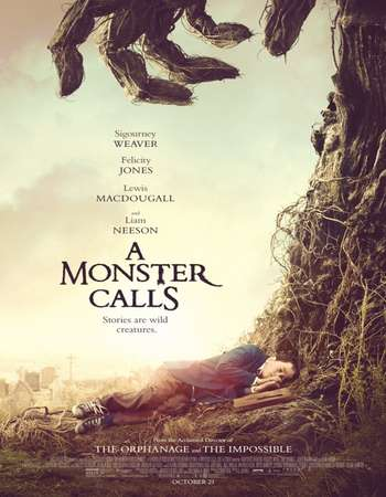 A Monster Calls (2016) English Movie Poster