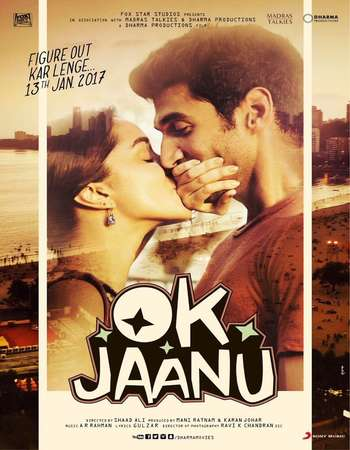 OK Jaanu (2017) Hindi Movie Poster