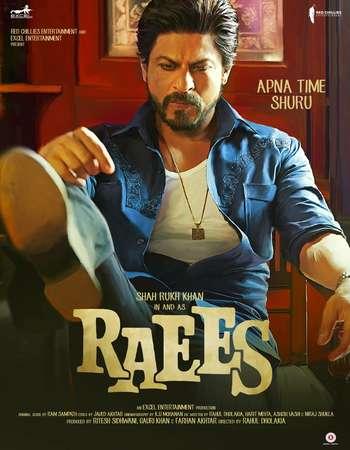 Raees (2017) Hindi Movie Official Poster
