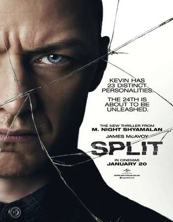 Split (2016) English Movie Poster