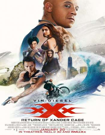 xXx Return of Xander Cage (2017) Hindi Dubbed Poster