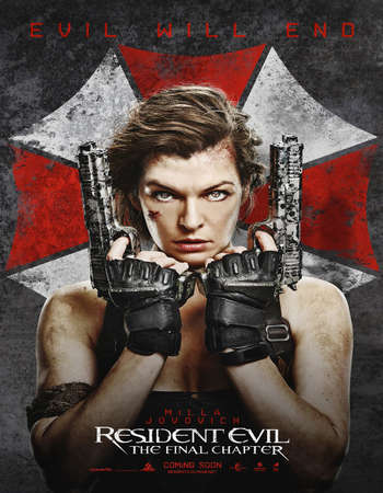 Resident Evil The Final Chapter (2016) Hindi Dual Audio