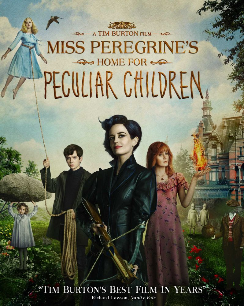 Miss Peregrine's Home for Peculiar Children 2016 720p BluRay x264
