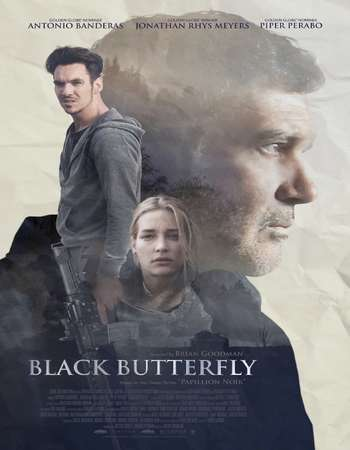 Black Butterfly (2017) English Movie Web-DL Poster
