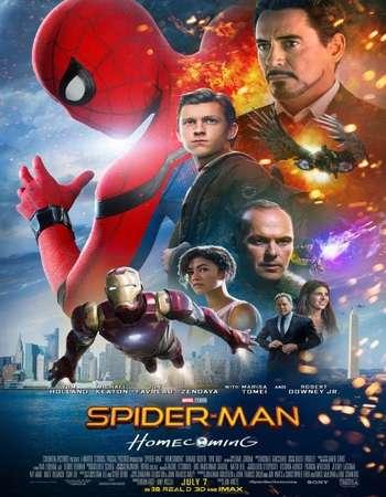 Spider-Man Homecoming (2017) Hindi Pre-DVDRip Poster