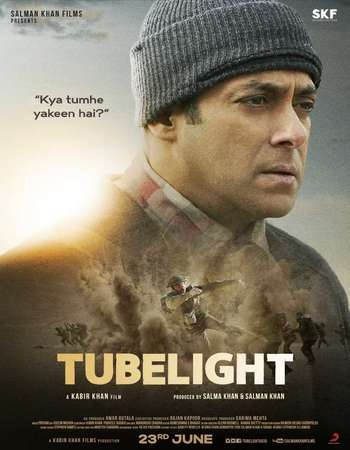 Tubelight (2017) Hindi Movie DVDScr Poster (1)