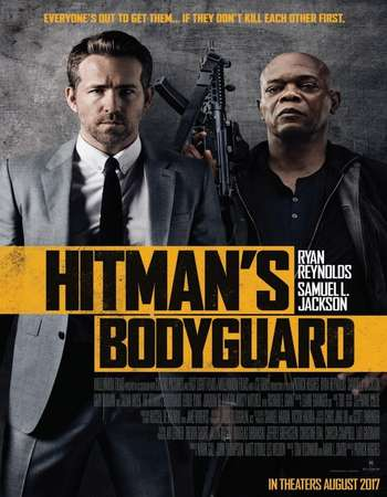 The Hitman's Bodyguard (2017) Hindi Dual Audio Web-DL Poster