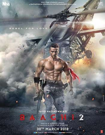 Baaghi 2 (2018) Hindi Movie Pre-DVDRip Download