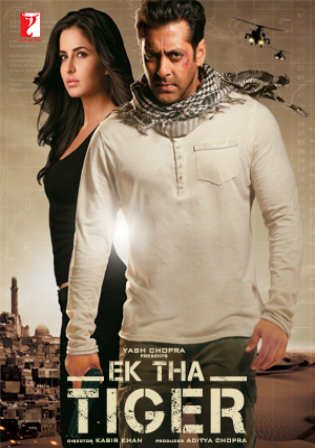 Ek Tha Tiger 2012 BRRip 950MB Full Hindi Movie Download 720p ESub