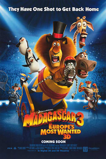 Madagascar 3 movie