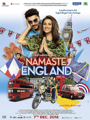 Namaste England 2018 Hindi Movie Pre-DVDRip 700Mb Download