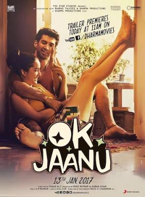 Ok Jaanu 2017 Hindi pDVDRip 700mb (Deflickered)