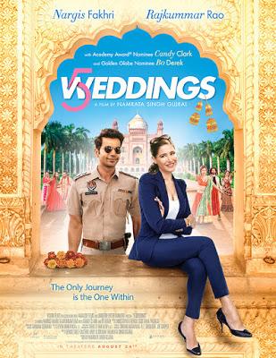 5 Weddings 2018 Hindi Movie Pre-DVDRip 700Mb Download