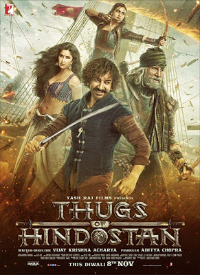 Thugs of Hindostan 2018 HQ Pre-DVDRip 700Mb Movie Download