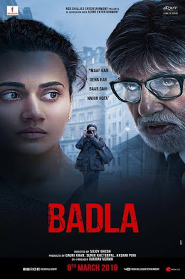 Badla 2019 Hindi Movie Pre-DVDRip 1.4Gb Download