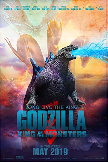 Godzilla King of the Monsters (2019) 720p Dual Audio