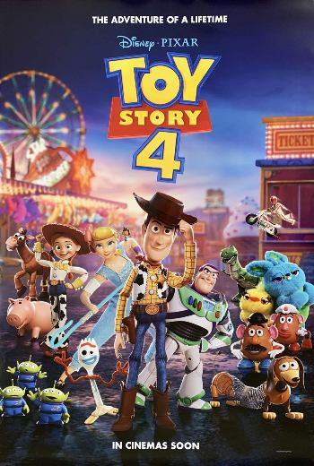 Toy Story 4 (2019) 1080p Dual Audio