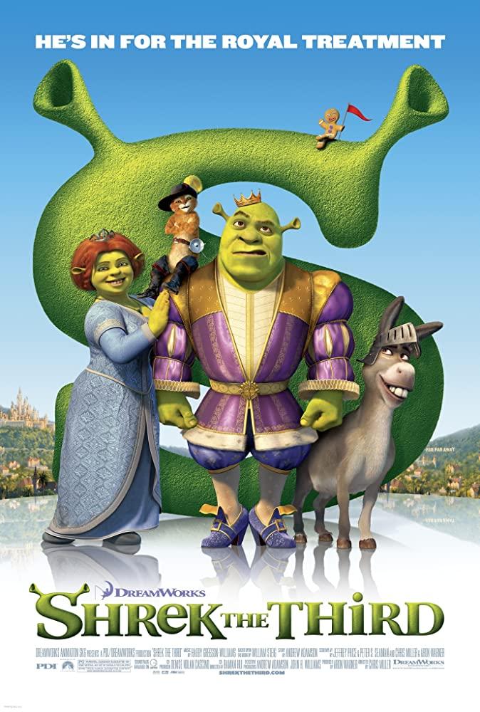 Shrek The Third (2007) 480p Dual Audio