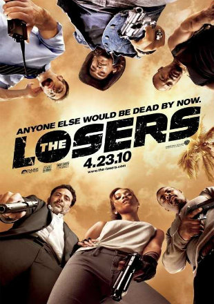 The Losers (2010) 480p Dual Audio 300mb