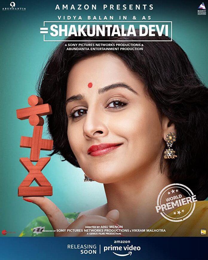 Shakuntala Devi (2020) 720p Hindi