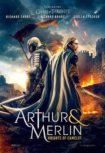 Arthur & Merlin Knights of Camelot (2020) 720p English