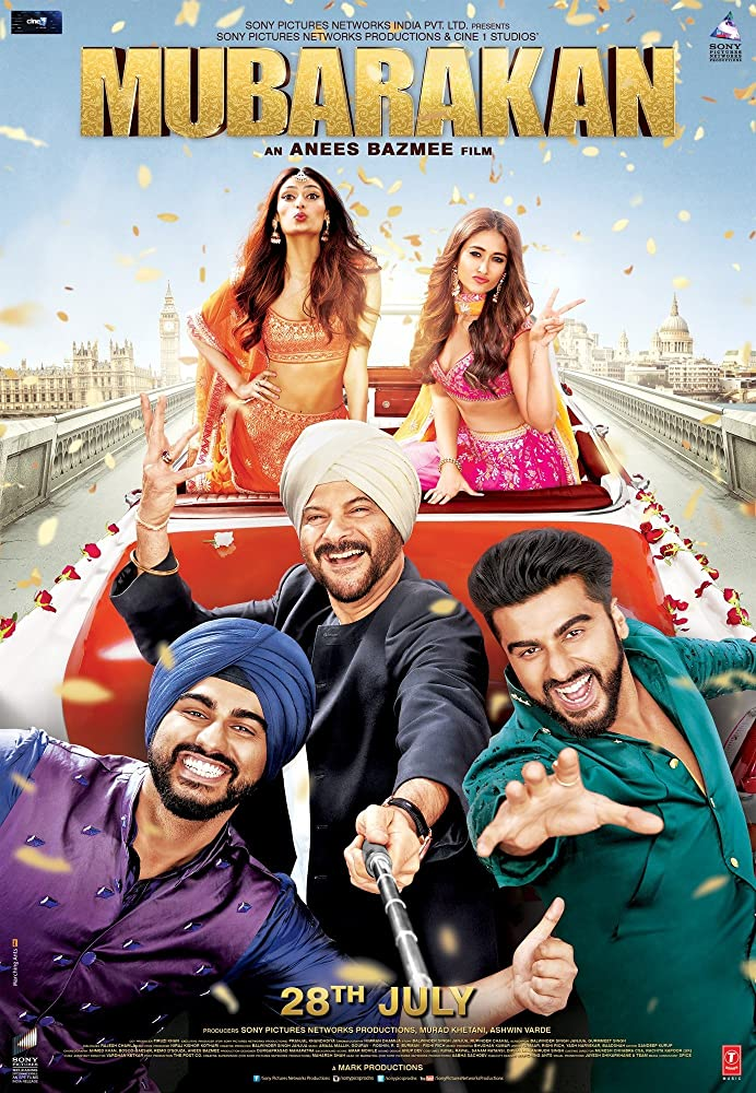 Mubarakan (2017) 720p Hindi
