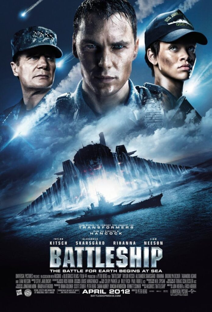Battleship (2012) 480p Dual audio
