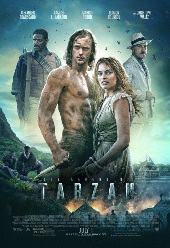 The Legend of Tarzan (2016) 720p Dual Audio