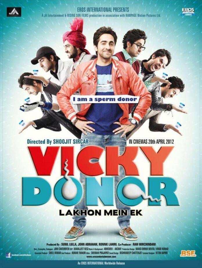 Vicky Donor (2012) 720p Hindi