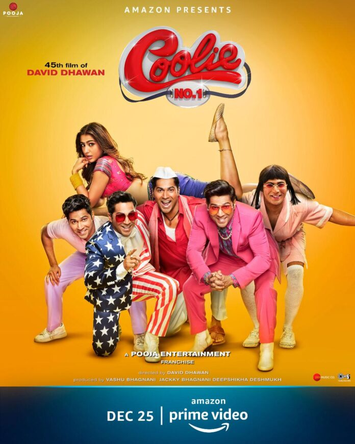 Coolie No. 1 (2020) 720p Hindi