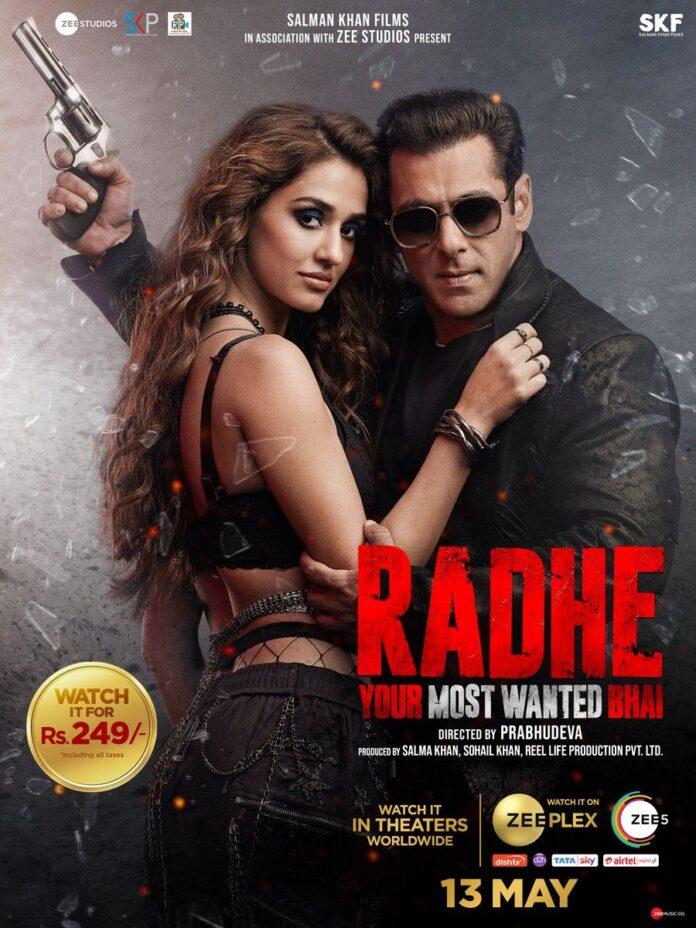 Radhe Your Most Wanted Bhai (2021) 720p Hindi