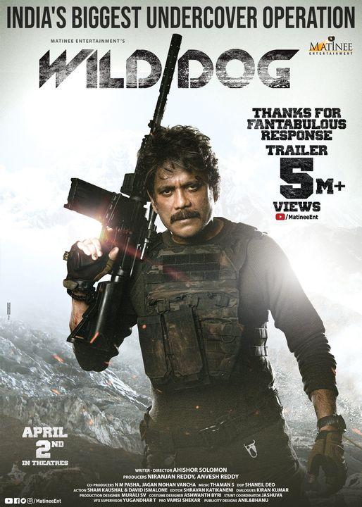 Wild Dog (2021) 720p Hindi Dubbed